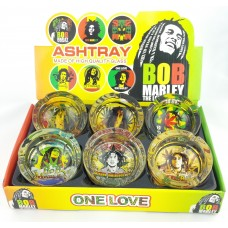 Round Bob Marley Ashtray III