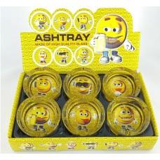 Round Happy Face Ashtray