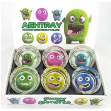 Round Monsters Ashtray