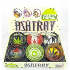 Round Hemp Ashtray III