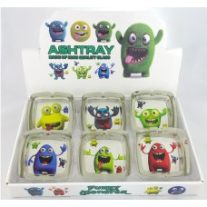 Square Monsters Ashtrays II