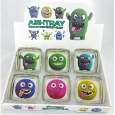 Square Monsters Ashtrays I
