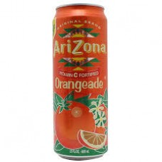 Arizona Orange Stash Can