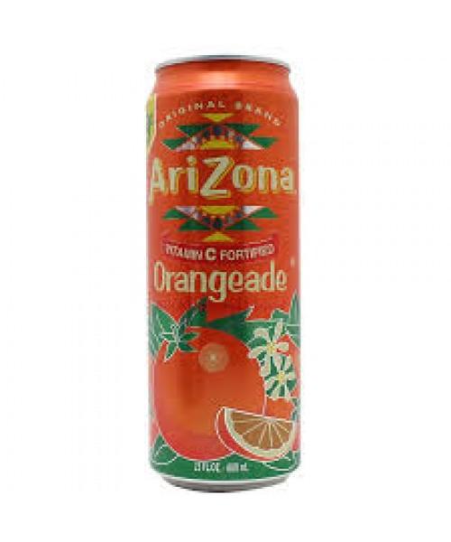 Arizona Orange Stash Can