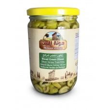 Mounit el Bait - Sliced Green Olives (12 x 660 g)