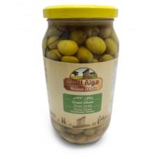 Mounit el Bait - Green Olives (12 x 1000 g)