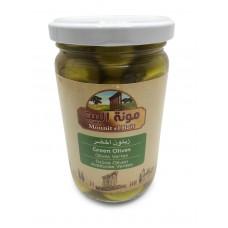 Mounit el Bait - Green Olives (12 x 370 g)