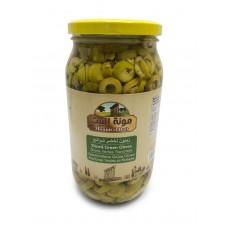 Mounit el Bait - Sliced Green Olives (12 x 1000 g)