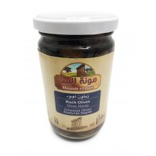 Mounit el Bait - Black Olives (12 x 370 g)