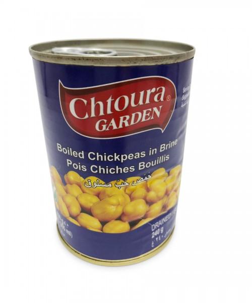 Chtoura Garden Boiled Chick Peas (24 x 400 g)