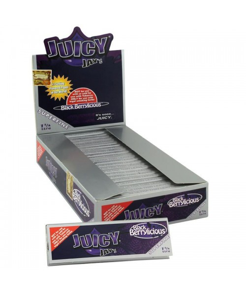 Rolling Paper - Juicy Jays 1 1/4 - Black Berrylicious