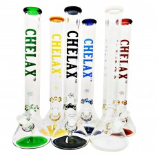 16 Inch Chelax 7mm with Coloured bottom and mouthpiece