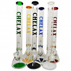 22 Inch Chelax 7mm with Coloured bottom and mouthpiece