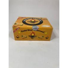 Gold Star Flavoured Charcoal 33 mm - Orange (10 Rolls/Box)