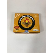 Gold Star Flavoured Charcoal 33 mm - Peach (10 Rolls/Box)