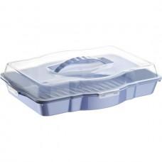 Cake Box w/ Lid - Plastic HW-CS-007