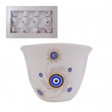 Cups With Blue Eye II (12 Pcs)