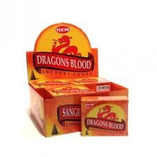 Hem Dhoop Cones - Dragon's Blood  Incense