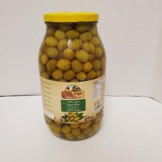 Mounit el Bait - Green Olives (4 x 3200 g)