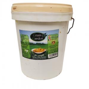 Grain Garden - Pickled Hot Chili Peppers (10 kg Bucket)