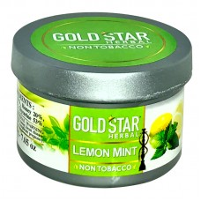 Gold Star Herbal Molasses 200g - Lemon Mint