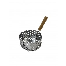 Hookah Charcoal Holder w/Wood Handle - Small (C4)
