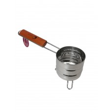 Hookah Charcoal Carrier w/Wood Handle - Small (C9)