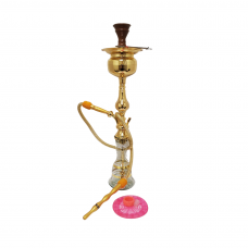 """Sultana Hookah - Pear w/Ice - Gold (31"""")"""