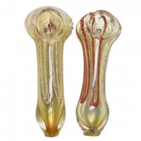 Glass Pipe 3.5'' - Inside Stripe Twist