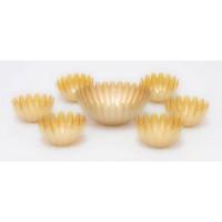 Salad Bowl Set (7pcs) Gold