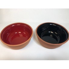 Deep Clay Bowl - Set of 2 (14 cm)