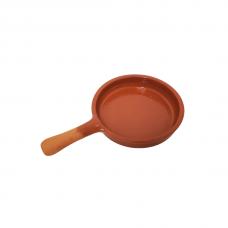 9.5'' Clay Frying Pan