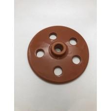 Grape Leaf Heavy Press - Clay (21 cm)