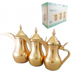 Traditional Coffee Warmer - Gold Color - 0.75L/1L/1.35L