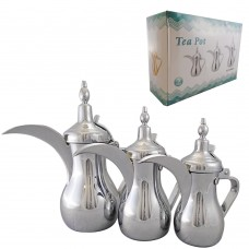 Traditional Coffee Warmer - Stainless Steel - 0.75L/1L/1.35L