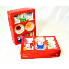 Cups w/ Handle & Saucer (12 Pcs) (135cc) HW-MC-12-076