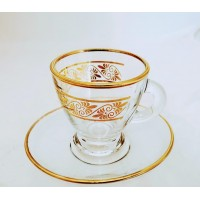 Cups w/ Handle & Saucer (12 Pcs) (95cc) HW-MC-12-092
