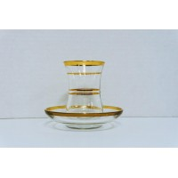 Cups & Saucer (12 Pcs) (135cc) HW-MC-12-094