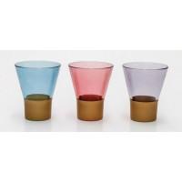 Cups - Gold (3 Pcs) 220 cc