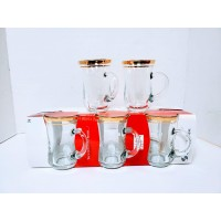 Cups W/ Handle 140cc (6 Pcs) - HW-MC-6-025