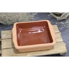Casserole Clay Dish - Square 21 cm - PSH011