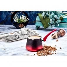 Granite Coffee Warmer No.9 - Red