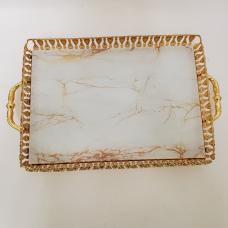 Fancy Gold Serving Tray