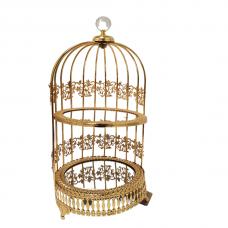 2 Tier Fancy Bird Cage Serving Tray