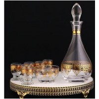 Glass Carafe Set - Turkish (Set of 7)