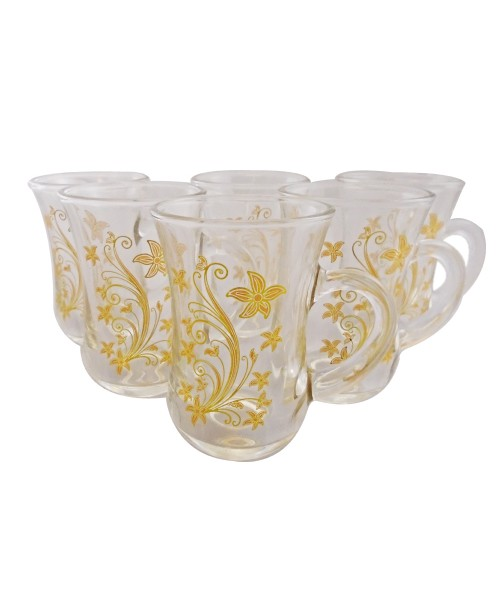 Cups W/ Handle (6 Pcs)