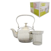 Tea Pot w/ Filter 1L - Phoenix - Stainless Steel