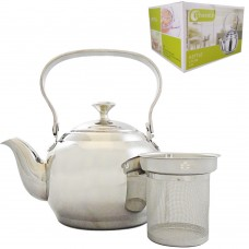 Tea Pot w/ Filter 2L - Phoenix - Stainless Steel