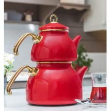 Enamel Tea Set