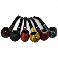 Hand Pipe - Tobacco Wood - 005